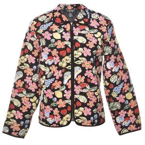 Requirement Floral Fruit Quilted Jacket